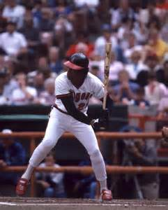 Carew at bat