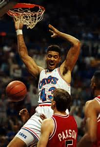 Brad Daugherty dunking