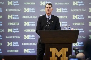 harbaugh Michigan press conefernce
