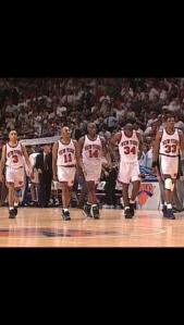 90's Knicks Ewing Harper Mason oakley and Starks